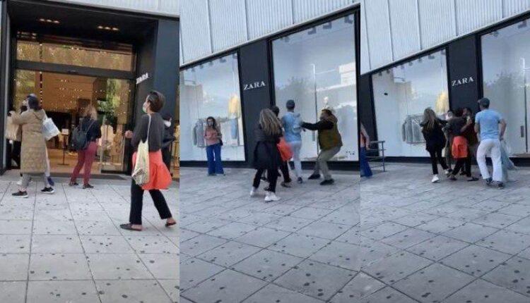 Γλυφάδα: Γυναίκες πιάστηκαν στα χέρια έξω από κατάστημα (VIDEO)