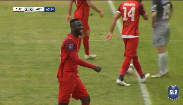 Διαγόρας-Τρίκαλα: Ο Ντοριβάλ με τρομερό φάουλ το 2-0 (VIDEO)