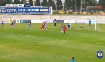 Διαγόρας-Τρίκαλα: Ο Σμυρλής το 1-0 (VIDEO)