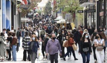 Ερμού: Πλήθος κόσμου για ψώνια στο κέντρο της Αθήνας (ΦΩΤΟ-VIDEO)