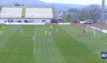 Λεβαδειακός-Ιωνικός: Το 1-1 ο Ματσούκας 80'' μετά την είσοδό του στο ματς (VIDEO)