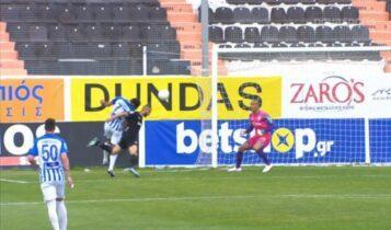 ΟΦΗ-Ατρόμητος: 1-1 με κεφαλιά του Χριστοδουλόπουλου στο 93'! (VIDEO)