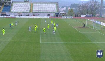 Λεβαδειακός-Ιωνικός: Μακρινό συρτό σουτ του Πολέτο για το 1-0 (VIDEO)