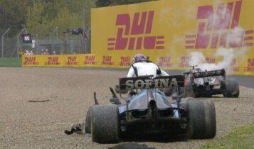 Formula 1: Το τρομακτικό ατύχημα που έβγαλε την κόκκινη σημαία (VIDEO)
