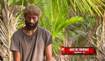 Survivor 4-Αλέξης: «Αν δεν φύγει ο Τζέιμς δεν θα ησυχάσω» (VIDEO)