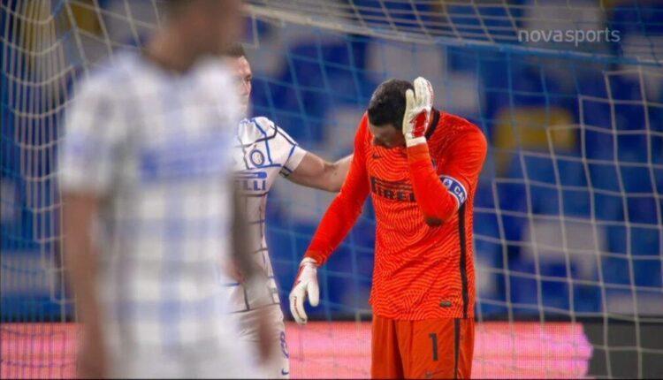 Νάπολι-Ιντερ: 1-0 με απίθανο αυτογκόλ Ντε Φράι-Χαντάνοβιτς (VIDEO)
