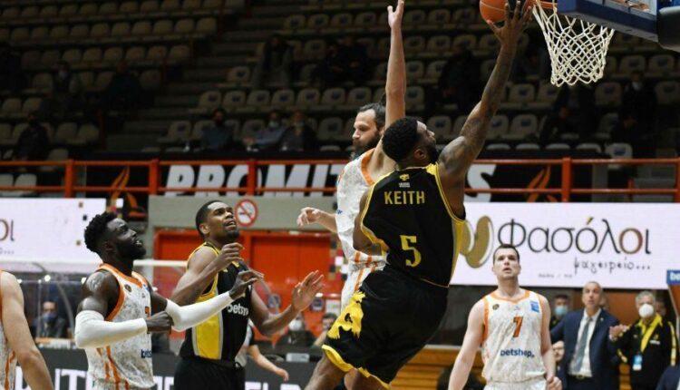 Βαθμολογία Basket League: Τέταρτη η ΑΕΚ