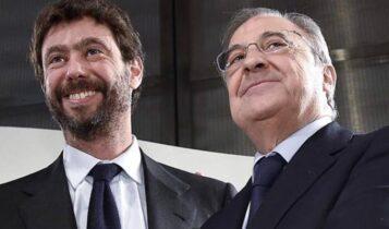 Οι πρώτες δηλώσεις Πέρεθ και Ανιέλι για τη Super League -«Αυξάνουμε σημαντικά την οικονομική αλληλεγγύη»