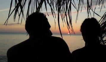 Survivor 4: Ερωτικό ραντεβού στο ηλιοβασίλεμα για Σάκη και Μαριαλένα (VIDEO)