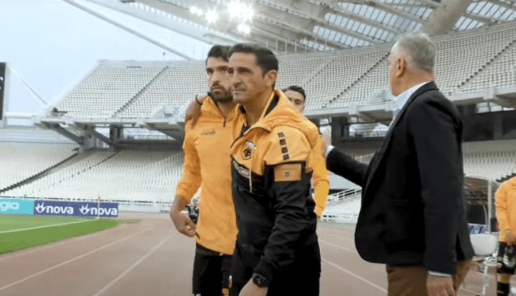 ΑΕΚ: Το ξέσπασμα με τον Αστέρα Τρίπολης και οι αγκαλιές Χιμένεθ-Ανσαριφάρντ (VIDEO)