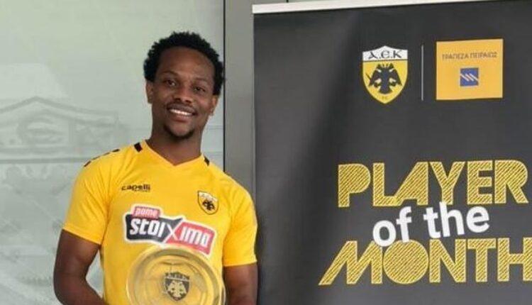 ΑΕΚ: «Player of the Month» για το μήνα Μάρτιο ο Γκαρσία! (ΦΩΤΟ-VIDEO)