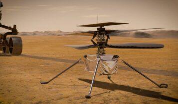 Ιστορική πτήση της NASA στον πλανήτη Αρη (VIDEO)