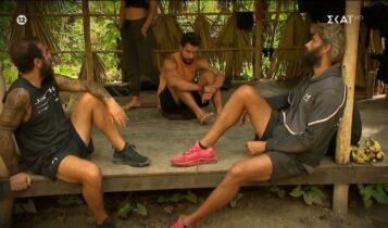 Survivor 4-Τριαντάφυλλος: «Είμαι ο μεγαλύτερος παίκτης, για να δυναμώσει η ομάδα πρέπει να φύγω» (VIDEO)