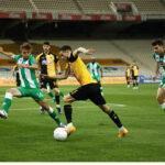 ΑΕΚ-Παναθηναϊκός 1-1 (ΤΕΛΙΚΟ)