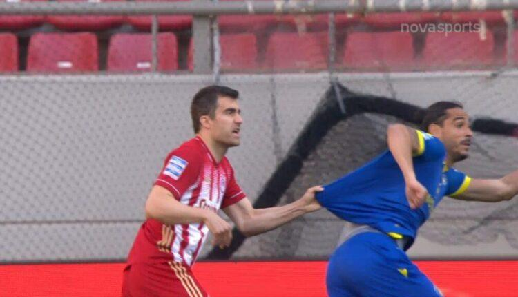 Ολυμπιακός-Αστέρας Τρίπολης: Το πέναλτι που έκλεισε τα μάτια ο Σιδηρόπουλος και το VAR! (VIDEO)
