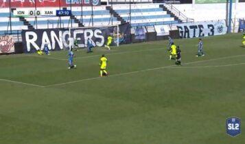Ιωνικός-Χανιά: 1-0 με το 14ο γκολ του Κάστρο (VIDEO)