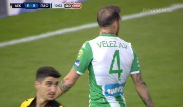 ΑΕΚ-Παναθηναϊκός: «Τσαφ» ο Βέλεθ... άγαλμα ο Διούδης και παραλίγο 1-0 (VIDEO)