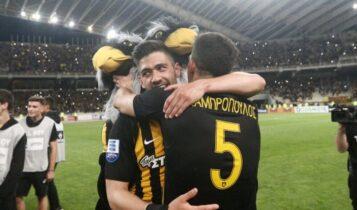 ΑΕΚ: Μπακασέτας και Λαμπρόπουλος θυμήθηκαν το πάρτι τίτλου στο ΟΑΚΑ το 2018! (ΦΩΤΟ)