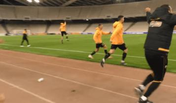 ΑΕΚ: Το ξέσπασμα των παικτών στην ισοφάριση του Λιβάι Γκαρσία (VIDEO)