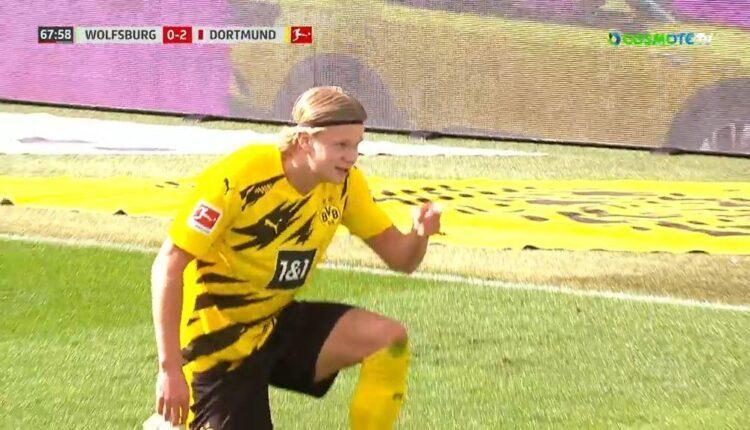 Βόλφσμπουργκ-Ντόρτμουντ: 0-2 με τον άπιαστο Χάαλαντ (VIDEO)