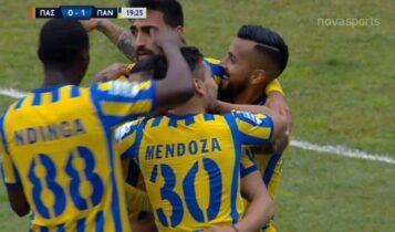ΠΑΣ Γιάννινα-Παναιτωλικός: Το 0-1 με κεφαλιά του Μπαρμπόσα (VIDEO)