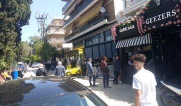 Ουρές ΑΕΚτζήδων και σήμερα στη Νέα Φιλαδέλφεια έξω από το AEK CS! (ΦΩΤΟ)