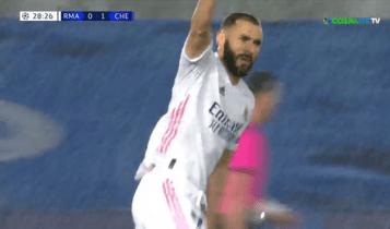 Ρεάλ Μαδρίτης-Τσέλσι: Απίθανη γκολάρα Μπενζεμά και 1-1! (VIDEO)