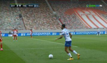 Ολυμπιακός-ΠΑΣ Γιάννινα: Μείωσε σε 2-1 μετά από λάθος του Σα! (VIDEO)