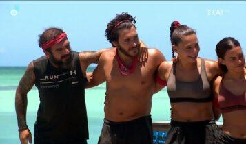 Survivor: Ηλίας και Ασημακόπουλος υποσχέθηκαν να πέσουν… γυμνοί στη θάλασσα αν νικήσουν -Η απάντηση του Τζέιμς (VIDEO)
