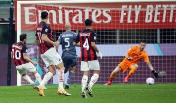 Μίλαν-Μπενεβέντο 2-0: Ελπίζουν για τη δεύτερη θέση οι «ροσονέρι» (VIDEO)