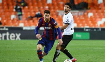 Βαλένθια-Μπαρτσελόνα 2-3: Ανατροπή δια χειρός Μέσι και τώρα τελικός με Ατλέτικο (VIDEO)