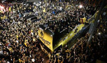 Το πάρτι της ζωής μας -Η μαγική φιέστα της ΑΕΚ για το πρωτάθλημα (ΦΩΤΟ-VIDEO)
