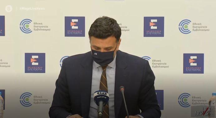 Κικίλιας: «Η πανδημία είναι ακόμα εδώ – Η διάμεση ηλικία των ενεργών κρουσμάτων είναι τα 43 έτη» (VIDEO)