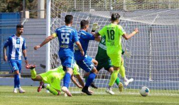 Super League 2: Νέο στραβοπάτημα για τον Ιωνικό (1-0) από τα Χανιά και θρίλερ στην κορυφή (VIDEO)
