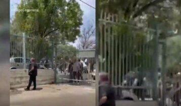 Τρομοκρατία από τους οπαδούς του Ιωνικού στα Χανιά! (VIDEO)