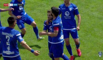 Πανσερραϊκός-Καβάλα: Το 0-1 με τον Αριστείδη Κόκκορη (VIDEO)