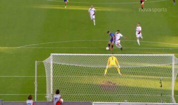 Βόλος-Λάρισα: Μαγική πάσα του Νίνη και 1-0 από τον Δουβίκα (VIDEO)