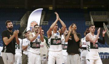 Κυπελλούχος Ελλάδας ο Παναθηναϊκός, κέρδισε 91-79 τον Προμηθέα Πατρών (VIDEO)
