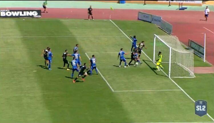 Εργοτέλης-Χανιά: Με κατά... τύχη γκολ του Κόλα το 1-0 (VIDEO)