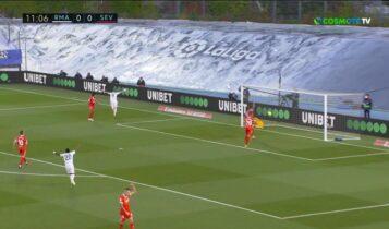 Primera: Η Ρεάλ κόλλησε 2-2 με τη Σεβίλλη (VIDEO)