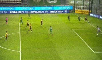 Παναθηναϊκός-ΑΕΚ: Ο Ανσαριφάρντ σκόραρε, ακυρώθηκε το γκολ! (VIDEO)
