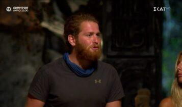 Survivor: Αποχώρησε οικειοθελώς ο Τζέιμς -Ο συγκινητικός αποχαιρετισμός με τον Νίκο (VIDEO)