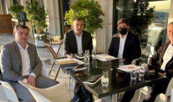 Αντιπροσωπεία της UEFA στην Αθήνα - Συναντήσεις με Αυγενάκη και Ζαγοράκη
