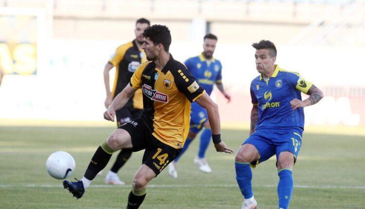 Αστέρας Τρίπολης-ΑΕΚ 1-1 (ΤΕΛΙΚΟ)