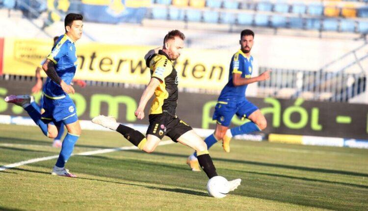 Αστέρας Τρίπολης-ΑΕΚ: «Ελέγχει το ματς, αλλά λείπει το καθαρό μυαλό στην επίθεση»