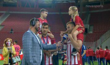 Παπασταθόπουλος: «Εκανα την επιλογή μου και καθρέφτης ήταν το γήπεδο» (VIDEO)
