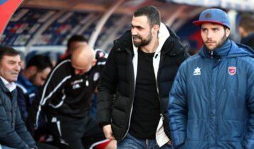 «Καμπάνα» τεσσάρων αγωνιστικών εισόδου στα γήπεδα τιμωρήθηκε ο Μανιάτης