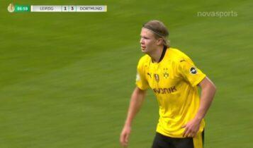 Λειψία-Ντόρτμουντ: Τυχερός Χάαλαντ και 1-4! (VIDEO)