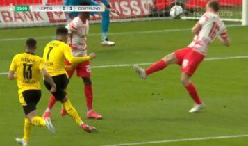 Λειψία-Ντόρτμουντ 0-1: Ανοιξε το σκορ στο 5΄ ο Σάντσο στον τελικό (VIDEO)