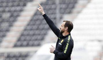 Μάντζιος: «Δύσκολο ματς κόντρα στην ΑΕΚ, σημαντικό να τερματίσουμε στην 3η θέση»